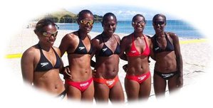 Vanuatu Women Beach Volleyball